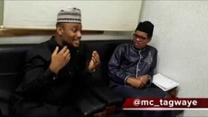 Video: Mc Tagwaye – Alex Ekubo Paid a Visit to His Excellency